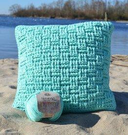 Crochet Kit Woven Pillow Cover