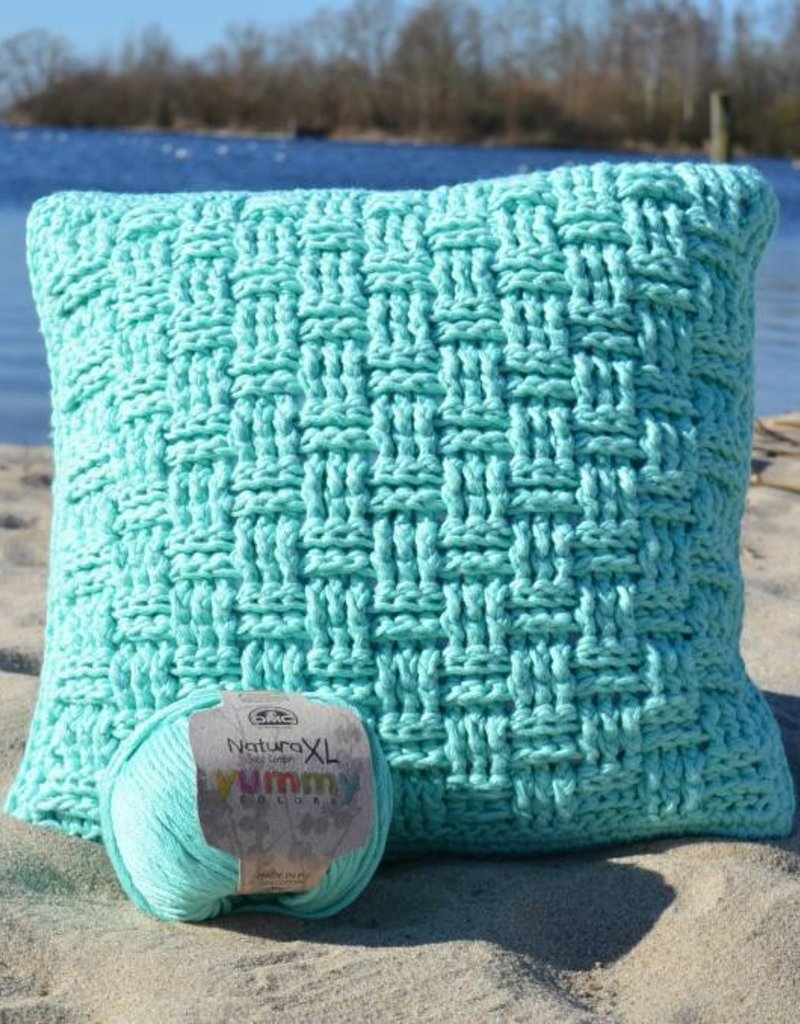 Crochet Kit Woven Pillow Cover