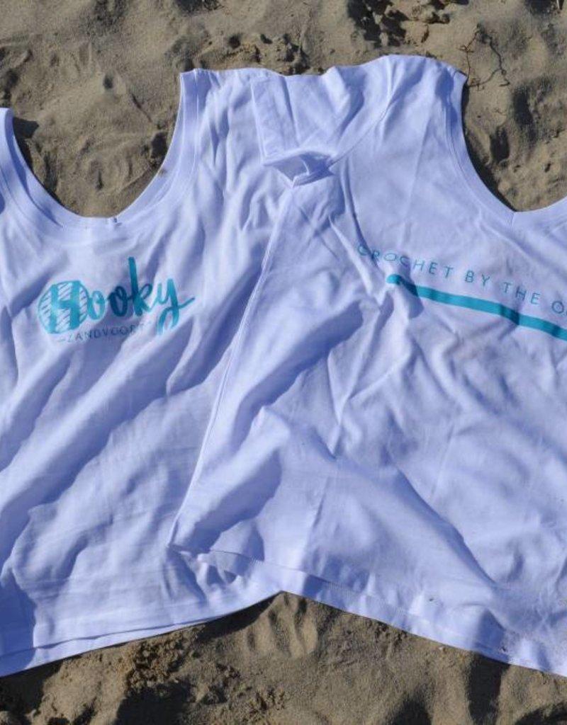 Organic Cotton T-shirt 'Crochet by the Ocean'