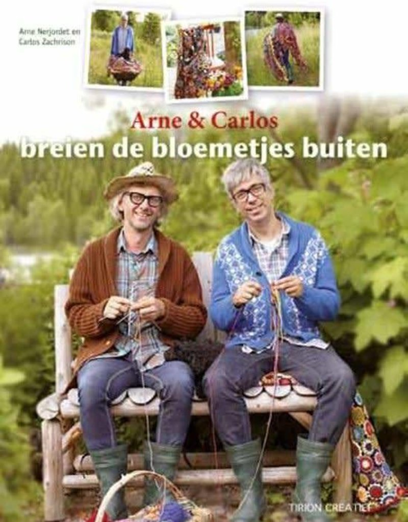 Arne en Carlos breien de bloemetjes buiten - Arne Nerjordet en Carlos Zachrison