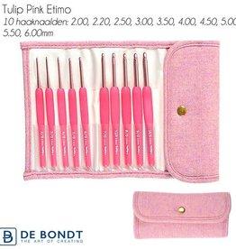 Tulip Tulip Etimo haaknaaldenset Limited Edition Pink