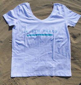 Organic Cotton T-shirt 'Ik ben haaks'