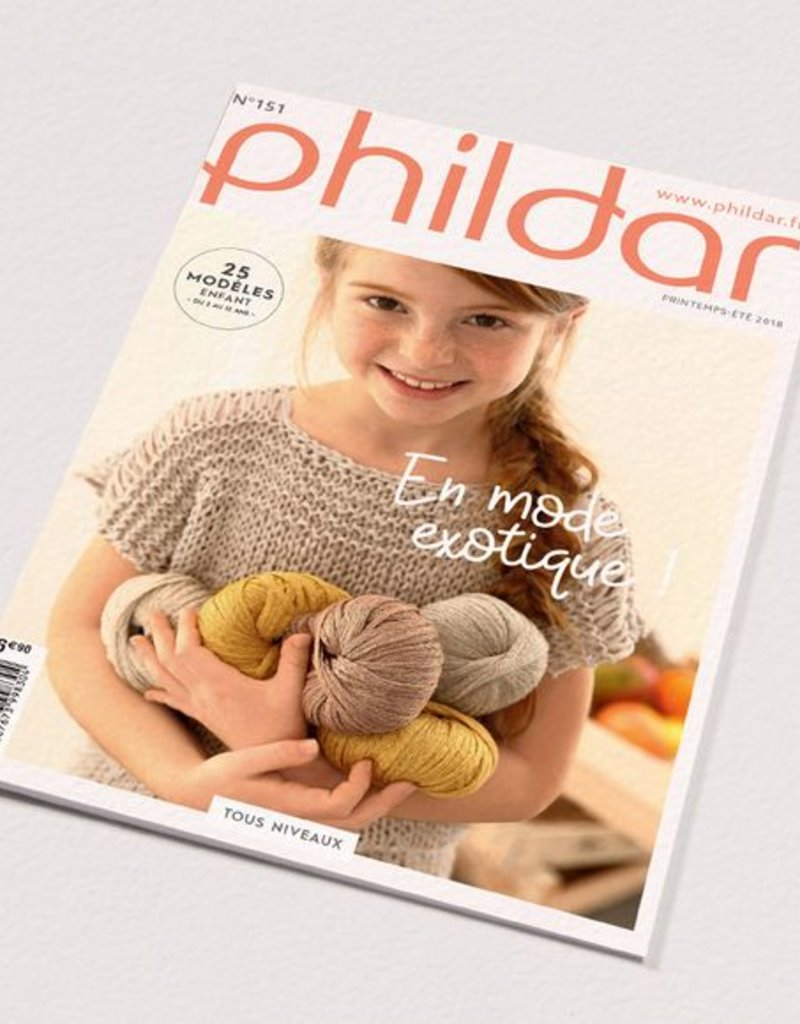 Phildar kit children's sweater Charlotte
