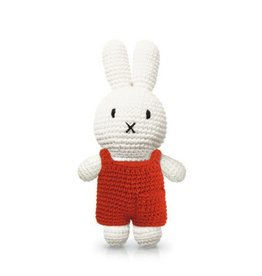 Miffy and her red overall