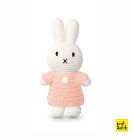Miffy and her pastel pink dress