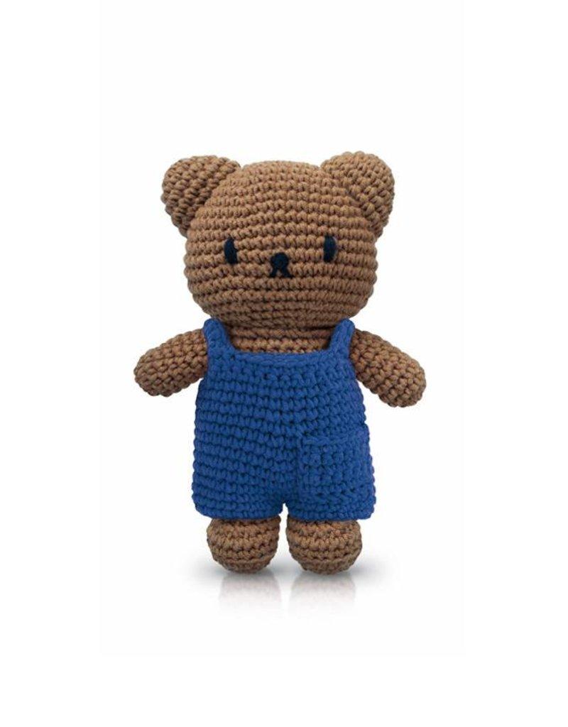 Boris en zijn blauwe overall