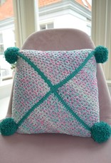 Crochet kit Don't-want-the-summer-to-end-pillow cover