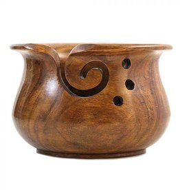 Yarn Bowl Natural Glossy