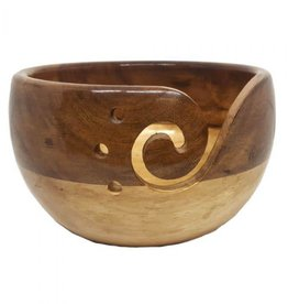 Scheepjes Yarn Bowl Acacia wood and Pinewood