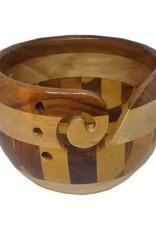 Scheepjes Yarn Bowl Multi wood