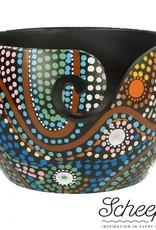 Scheepjes Scheepjes Yarn Bowl mango hout Aboriginal