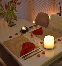 Haakpakket Romantische Valentijns Placemats