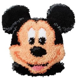 Knoopkussen kit Mickey Mouse