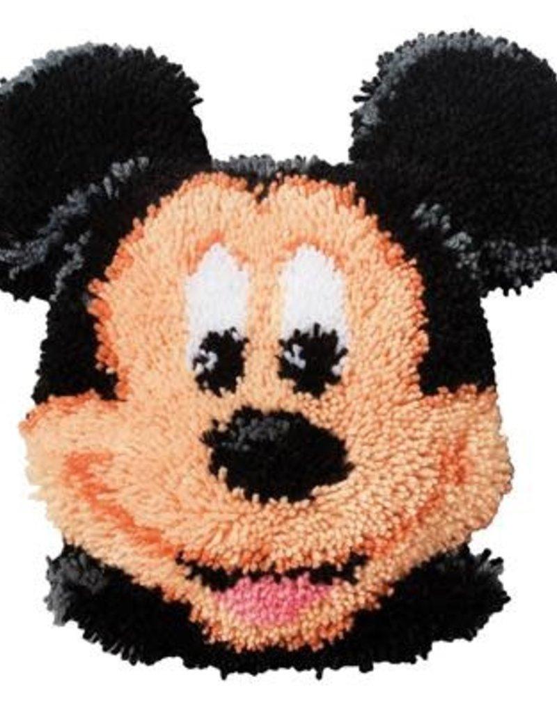 Knoopkussen kit Mickey Mouse