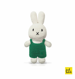 Miffy and her green overall