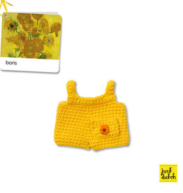 Losse kleertjes Nijntje - Gele zonnebloem overall (Van Gogh)