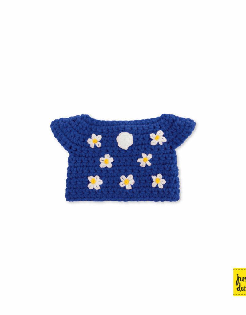 Nijntje losse kleertjes - Blauwe bloemenjurk