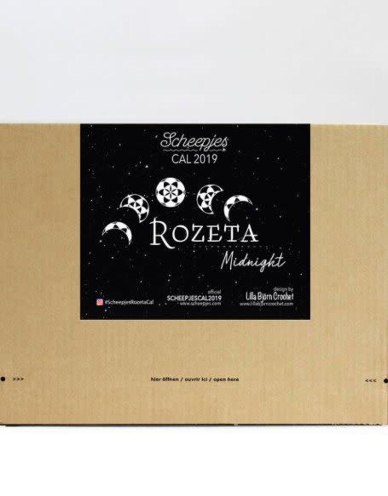 Scheepjes Scheepjes CAL2019 Rozeta Colour Crafter - Midnight