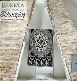 Scheepjes CAL2019 Rozeta Our Tribe - Midnight