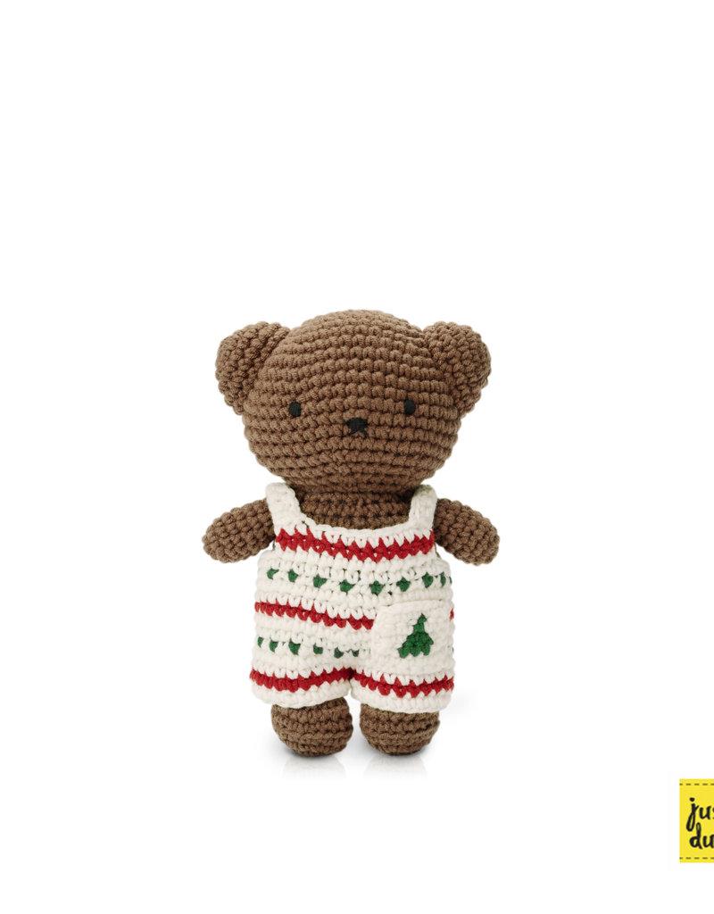 Boris and his Christmas overall