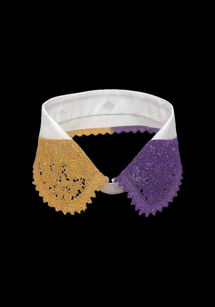 Shining gold & purple