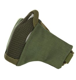 101 inc Green  AIRSOFT FACE MASK NYLON/MESH