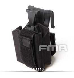 FMA FMA Universal holster for Molle Black TB1113-BK