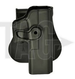 IMI Defense Tactical Drop Leg Platform en holster Black set