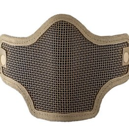Valken VALKEN TACTICAL  TAN 2G WIRE MESH TACTICAL MASK