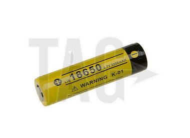 wiederaufladbare Batterie