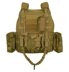 101 inc Tactical vest Ranger Black Coyote of OD