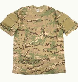 101 inc T-SHIRT TACTICAL POCKET Multicam
