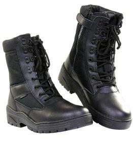 101 inc Pr. sniper boots WITH YKK ZIPPER Zwart