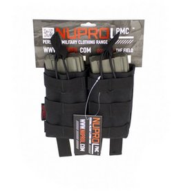 Nuprol NuProl PMC AK Double Open Mag Pouch - Black