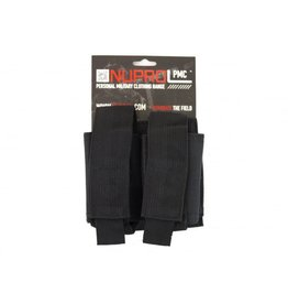 Nuprol PMC Double 40mm Pouch - Black