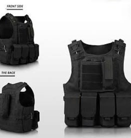 Camaleon Tactical Molle Vest Black