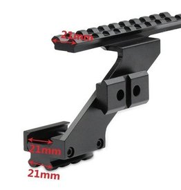Camaleon Pistol Hand Gun Scope Mount for Red Dot Laser Sight Flashlight Light