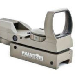 Phantom Multi dot red/green dot sight w/mount (Desert) 15X35BKDE