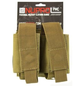 Nuprol Nuprol PMC Double 40mm Pouch - Tan
