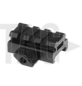 Leapers Low Profile 3-Slot Twist Lock Riser Mount