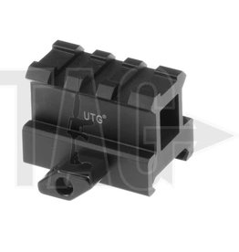 Leapers High Profile 3-Slot Twist Lock Riser Mount