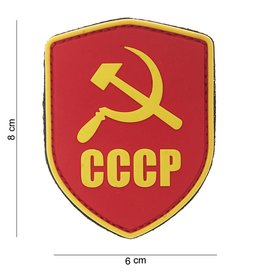 101 inc SCHILD CCCP PVC Embleem