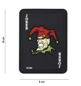 101 inc Joker PVC patch Black