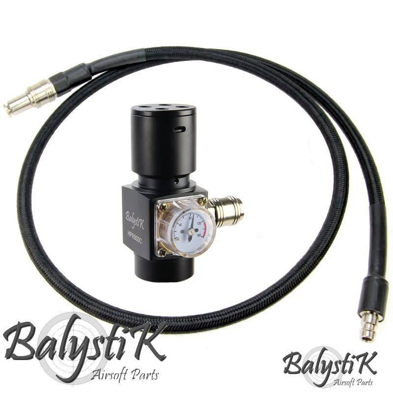 Balystik HPR800c regulator met line, US versie