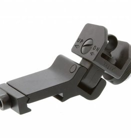 Metal offset rear sight