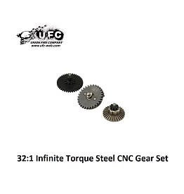 Union Fire 32:1 Infinite Torque Steel CNC Gear Set