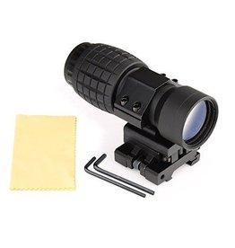 TAG-GEAR Magnifier 3x met flipmount