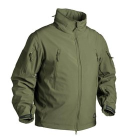 Helikon-Tex GUNFIGHTER Jacket Olive Green - Shark Skin Windblocker