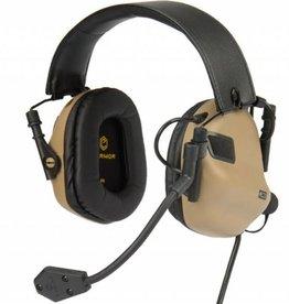OPSMEN Earmor M32-MOD3 TN Professional Electronic Earmuff TAN M32-MOD1 TN