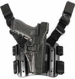 TAG-GEAR Blackhawk Style CQB Holster Set (Black, Glock 17/19/31)